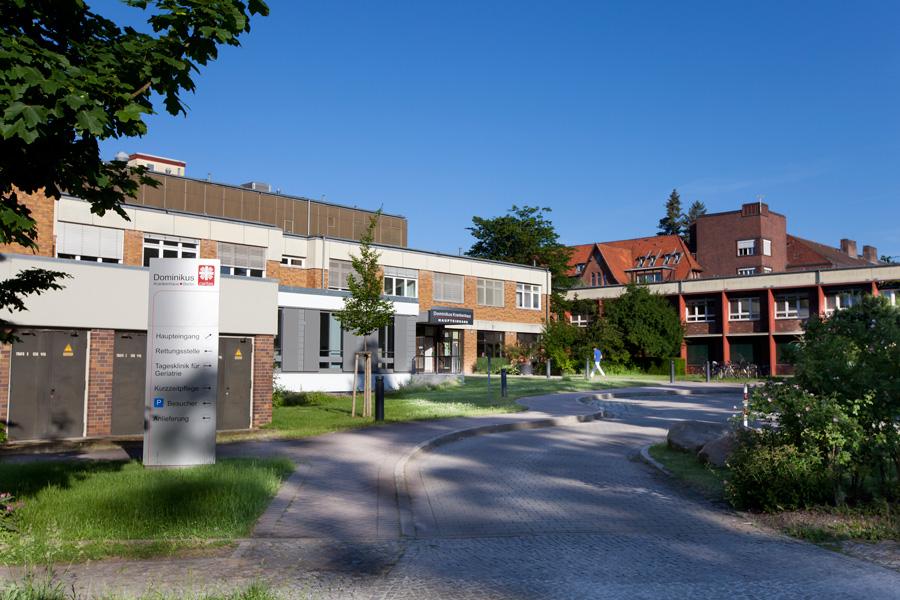Dominikus-Krankenhaus Berlin-Hermsdorf Haupteingang