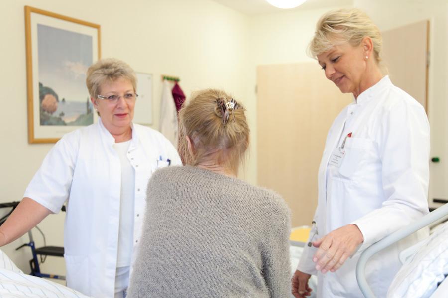 Der persönliche und qualifizierte Kontakt zu unseren Patientinnen und Patienten ist uns wichtig.