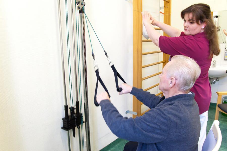 Damit Sie wieder auf die Beine kommen, bieten wir verschiedene Einheiten zur Stärkung Ihres Körpers.