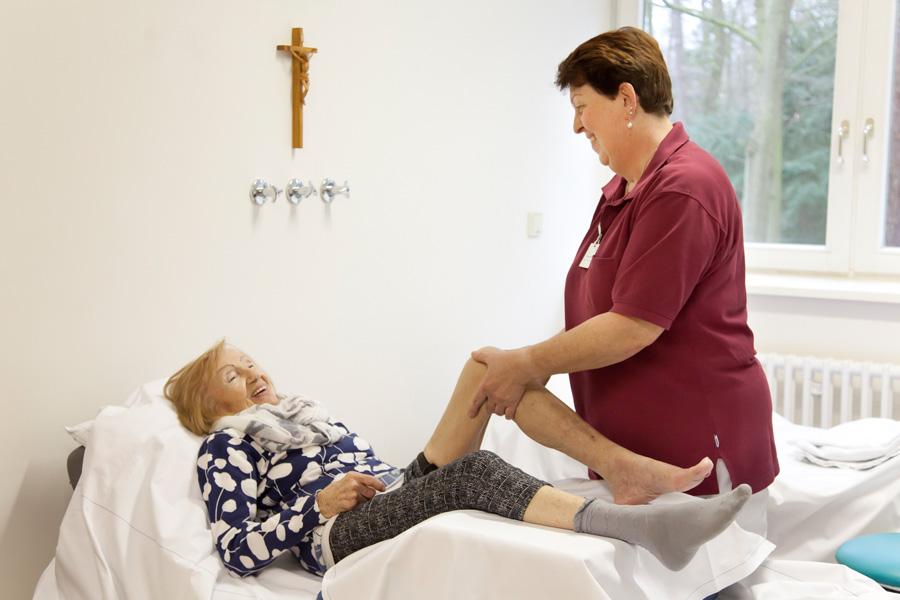 Unseren Patienten können wir ein umfassendes Therapieangebot zuteil werden lassen.
