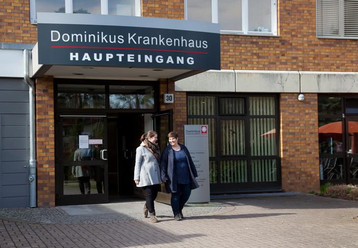 Aufnahme & Entlassung Dominikus-Krankenhaus Berlin