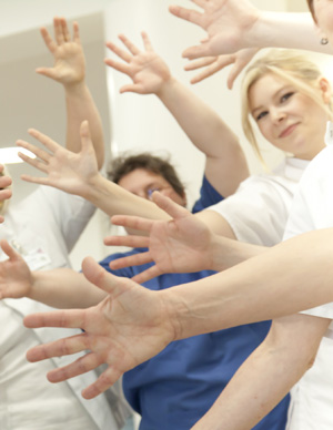 Hygiene im Krankenhaus - Aktion saubere Hände