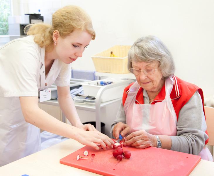 Ergotherapie - Geriatrie - Dominikus-Krankenhaus Berlin