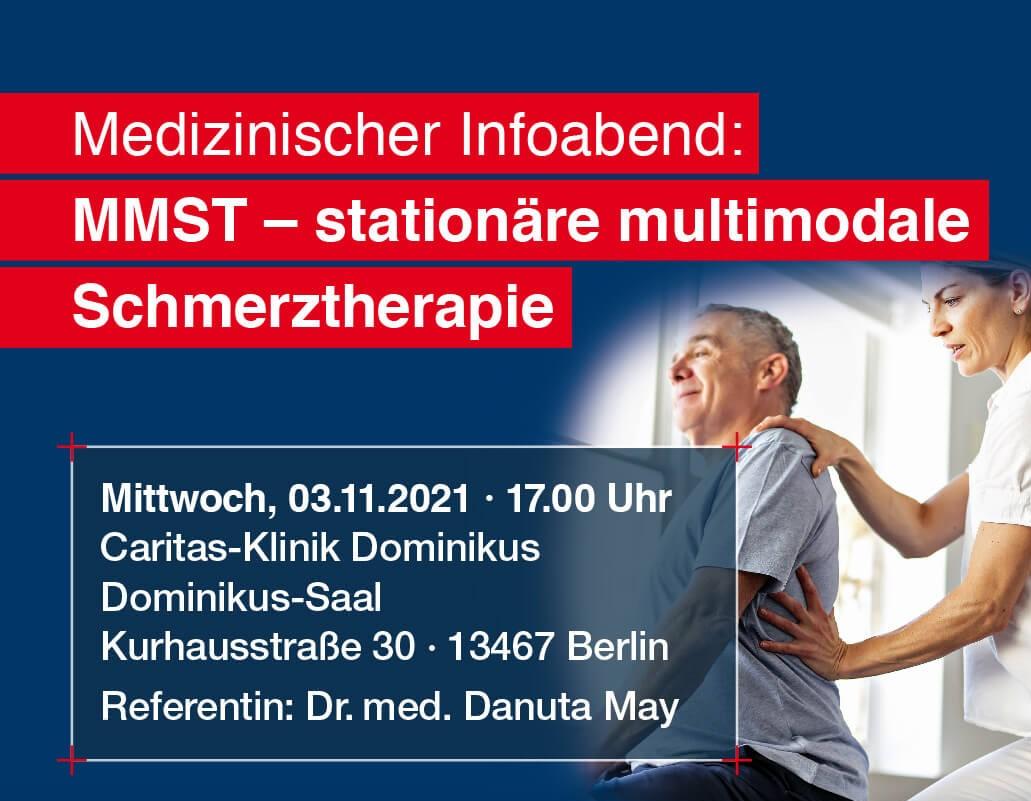 Medizinischer Infoabend: Multimodale Schmerztherapie
